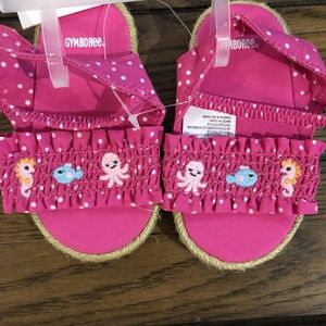 Gymboree Sea life sandals